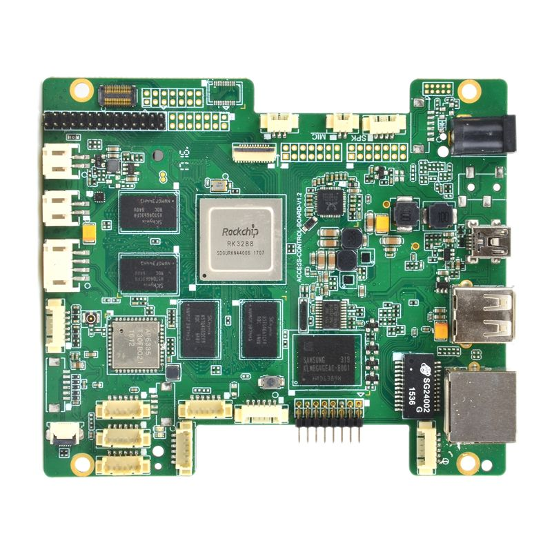 Embedded Motherboard based on RK3288 Quad Core CPU