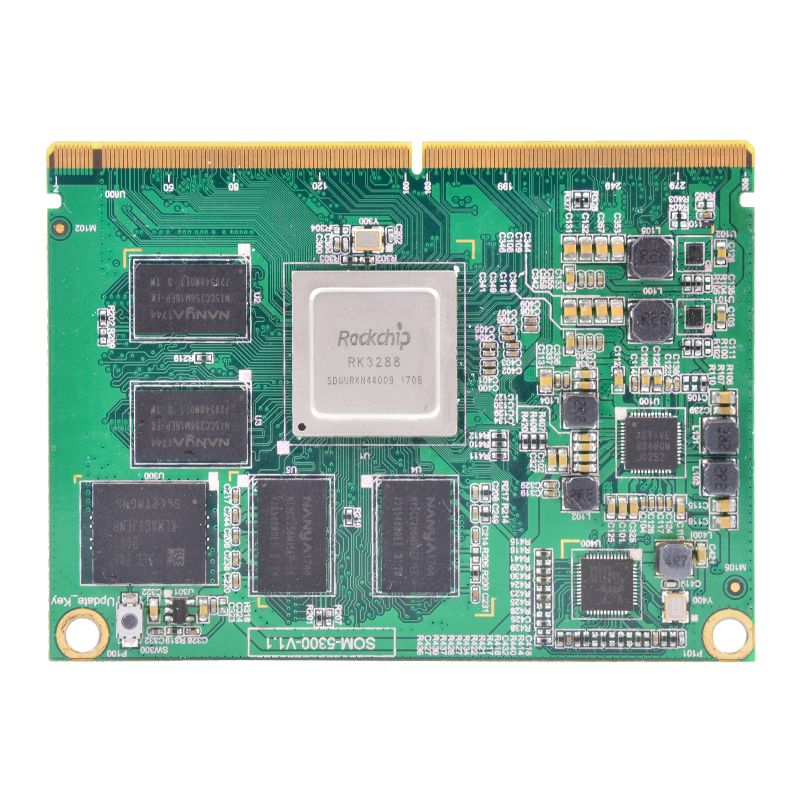 System on Module Based on Rockchip RK3288 Quad Core CPU